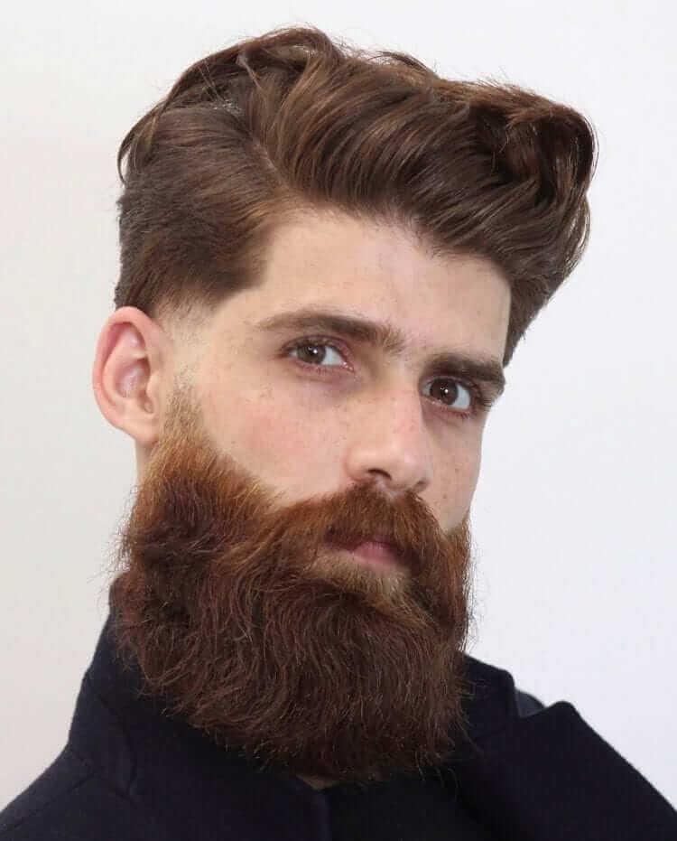 Faded Side Burns Beard