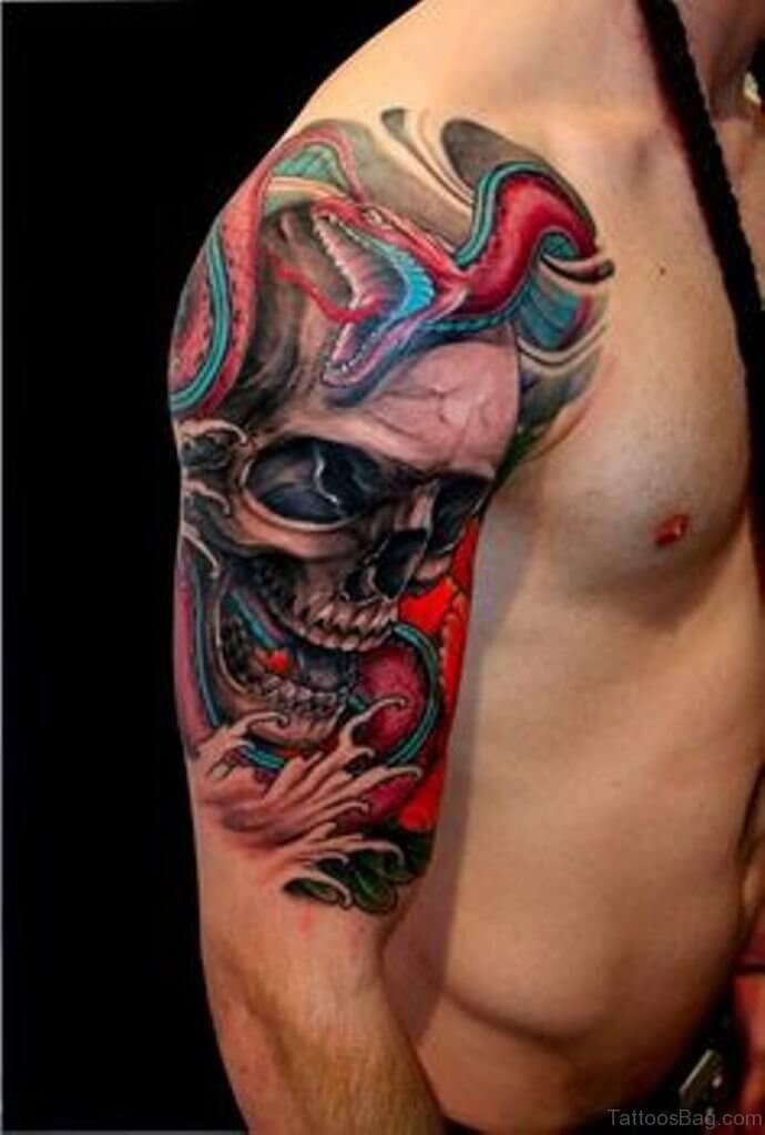 shoulder tattoos for men 2021-Tattoos Ideas For Guys- Best TATTOO Design Ideas For Men