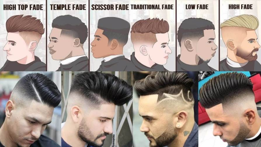 Popular Haircuts For Men-Fade Hairstyles For Guys 2021