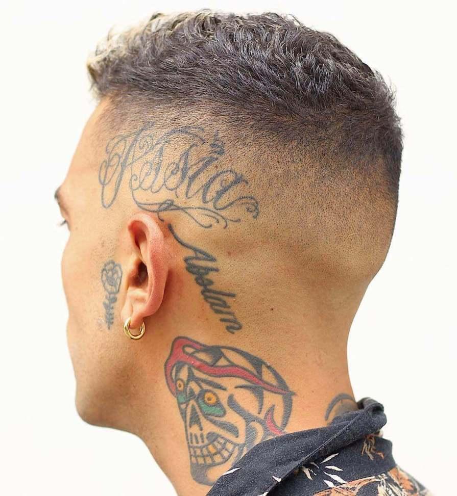 Short Hair Fade Haircut