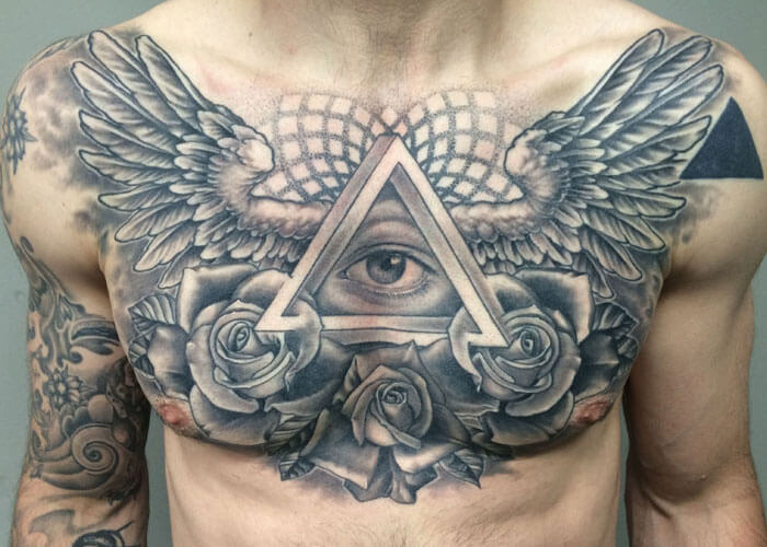 best chest tattoos for guys-16
