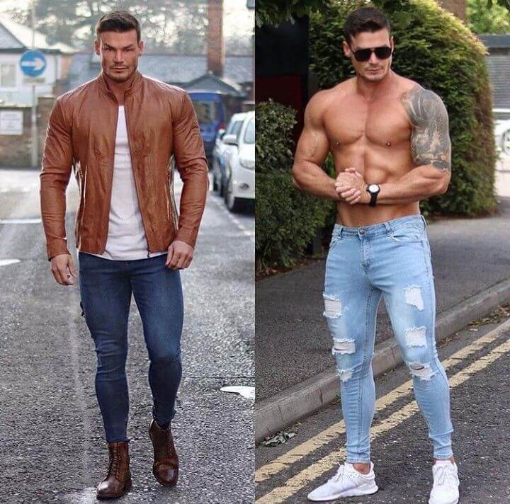 jackets for muscular guys