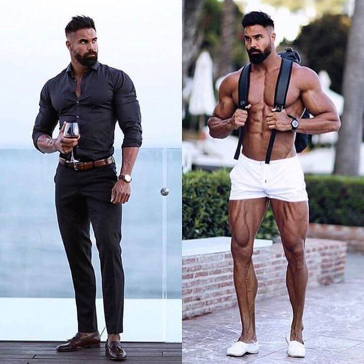 Outfit ideas for Muscular Men