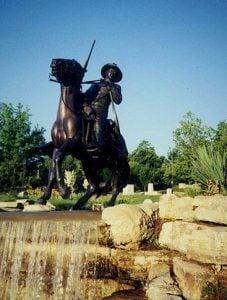 Buffalo Soldier by Sculptor Eddie Dixon
