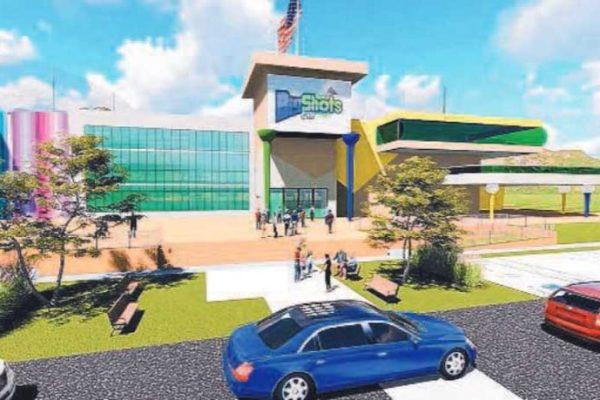 Proposed BigShots Golf complex