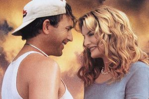 Kevin Costner and Rene Russo in Tin Cup
