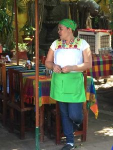 Waitress at El Meson de los Laureanos