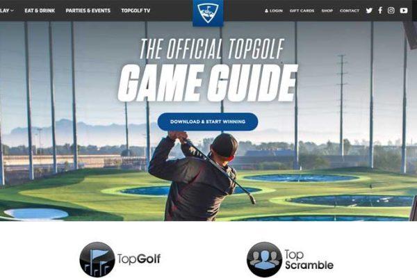 TopGolf screenshot