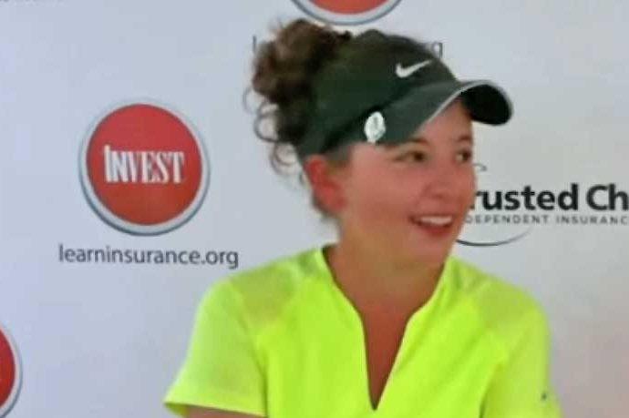 Shootout in the Desert winner Jacquelyn Galloway