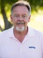 Kent Beatty, Calum Hill's golf coach at WNMU