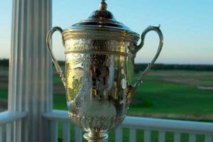 U.S. Open trophy Calum Hill is competing for