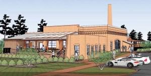 Rendering of Pinehurst Brewery