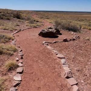 Trail at Hawikuh