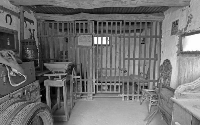Mesilla jail reconstruction