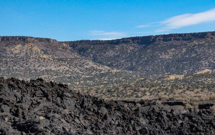 Lava outside of Grants