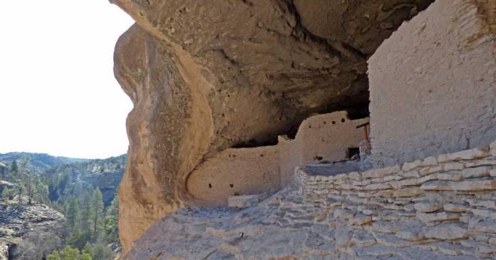 The Gila Cliff Dwellings