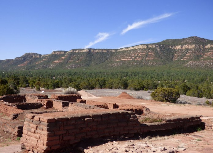 Pecos Pueblo foundations
