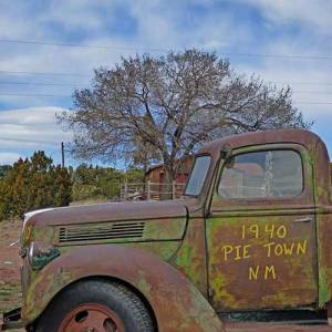 Old Truck in Pie Town