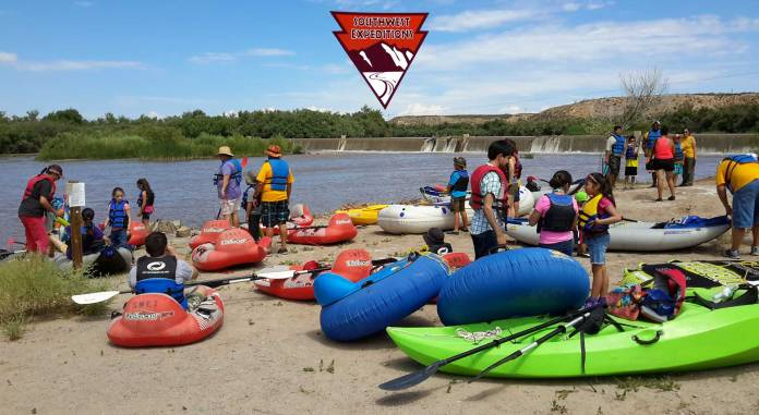 Southwest Expeditions rafting the Rio Grande