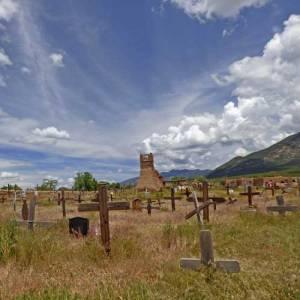 San Jeronimo mission at Taos Pueblo