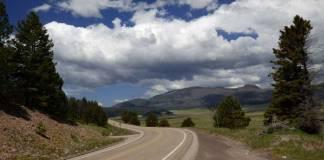 Highway 4 through the Jemez