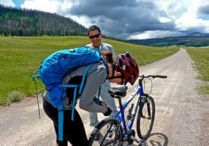 Biking the Caldera