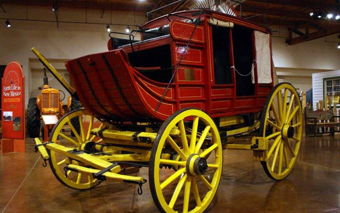 New Mexico Farm and Ranch Heritage Museum stagecoach