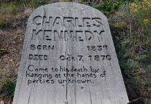 Charles Kennedy Grave Marker