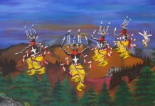 Mescalero Apache Crown Dancers at Inn of the Mountain Gods