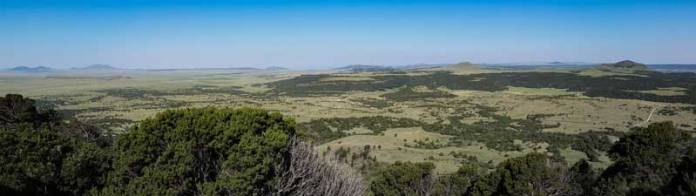 View from Capulin Volcano