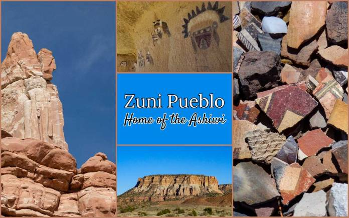 Zuni Pueblo banner for Highway 53
