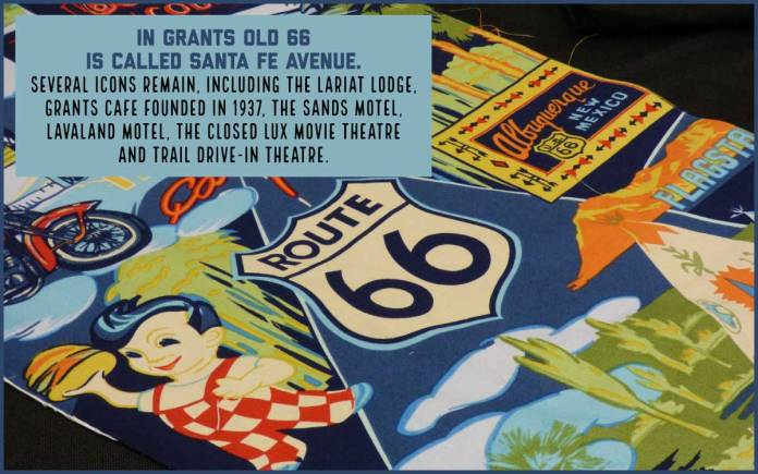 Route 66 in Grants