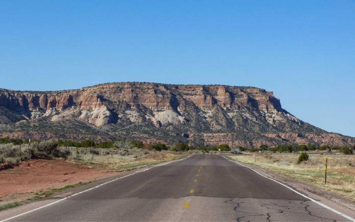 Highway 53 before Zuni Pueblo