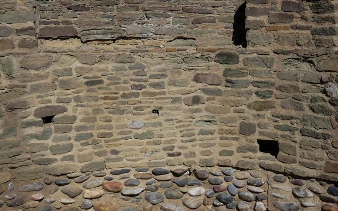 Salmon Ruins walls