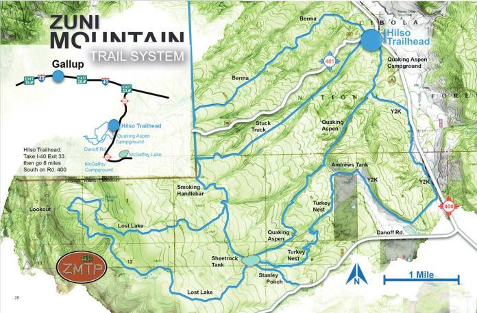 Zuni Mountain Trail System