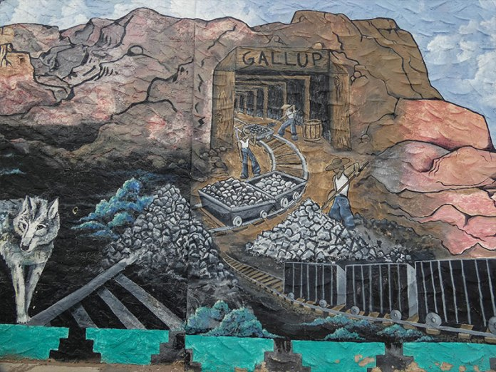 Coal Mining mural