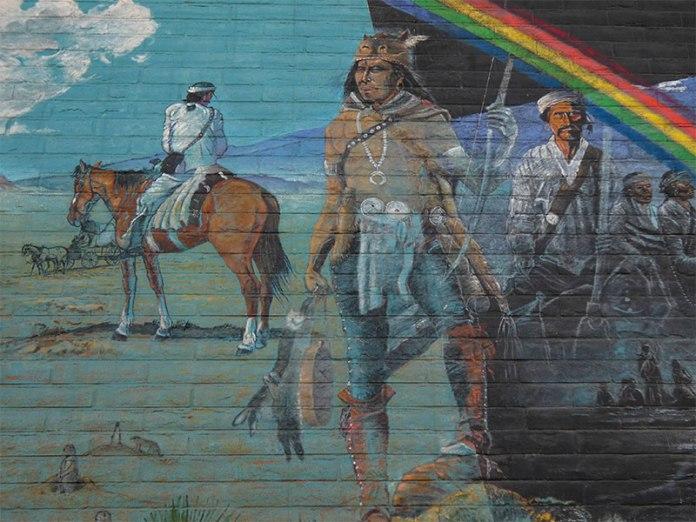 Long Walk Home mural