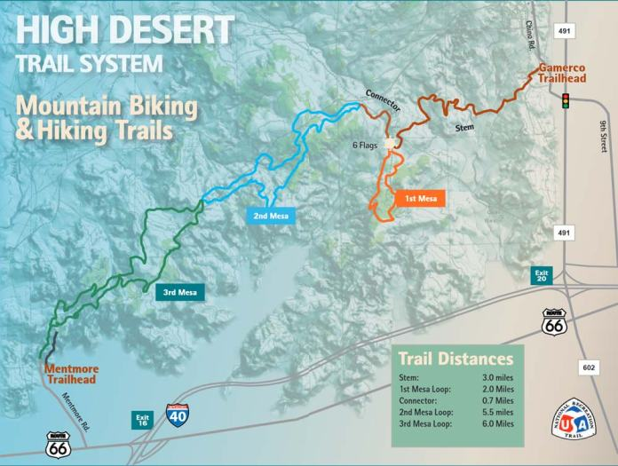 High Desert Trail System in Gallup New Mexico