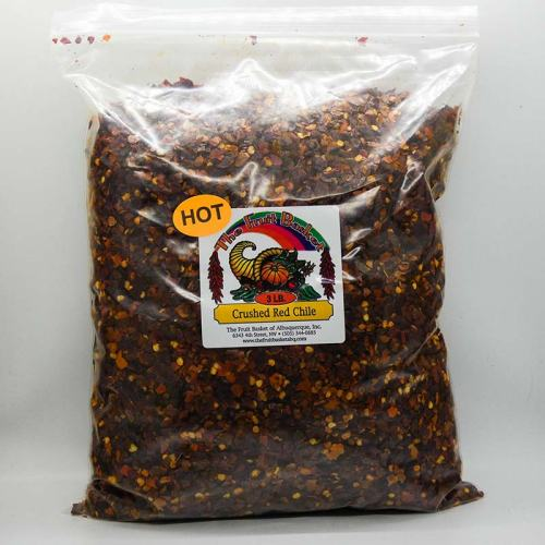 3-pound crushed red chile