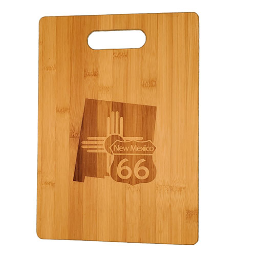 NM Route 66 cutting board