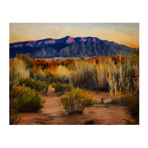 Presten Vejil Sandia Mountains print