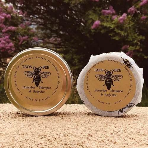 Taos Bee shampoo and body bar