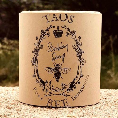 Taos Bee scrubby soap