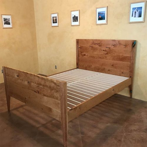 Wesley Janecka cherry bed