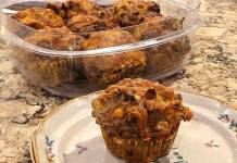chile corn sausage muffins