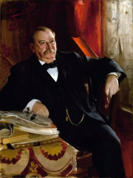 "Grover Cleveland, ""Grover the Good,"" National Portrait Gallery"