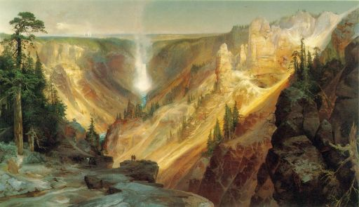 Thomas Moran, The Grand Canyon of the Yellowstone, 1872.