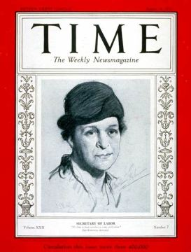 Frances Perkins Time 1933