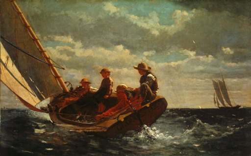 Breezing Up (A Fair Wind) Winslow Homer The National Gallery of Art