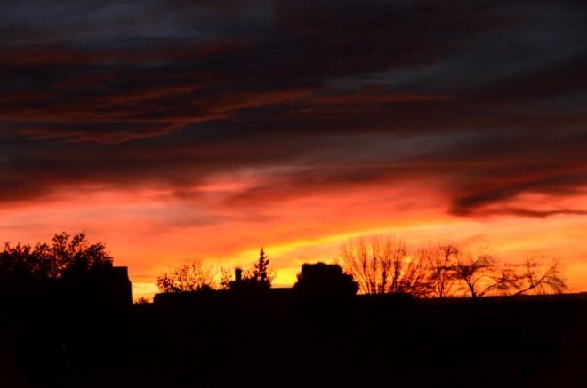Sunset December 8th